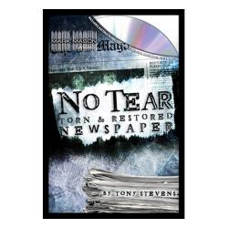 NO TEAR BY TONY STEVENS '(journal dechire)