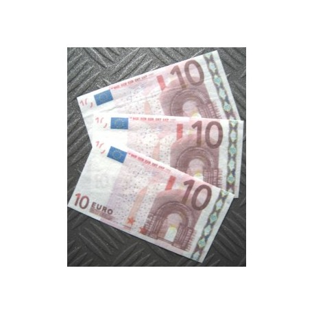 BILLET 10 € FLASH ( par 7)