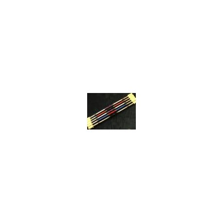 BATON INDIEN FEU 1,20 M. mèche ronde 100 mm, l'unité
