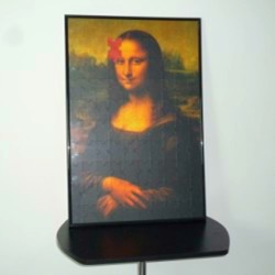 MONA LISA MAGIC PUZZLE
