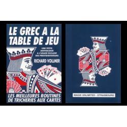LE GREC A LA TABLE DE JEU DE richard vollmer