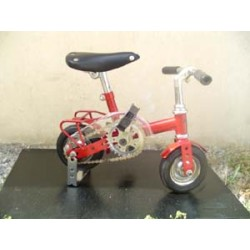 MINI-VELO CLOWN ADULTE, COULEUR ROUGE