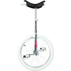 MONOCYCLE ONLY ONE CHROME INDOOR PNEU BLANC 20 P