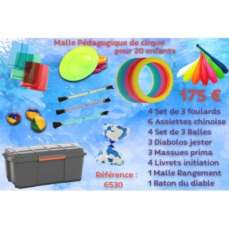 MALLE PEDAGOGIQUE CIRQUE 20 ENFANTS