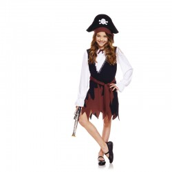 COSTUME PIRATE FILLE 9-11 ANS