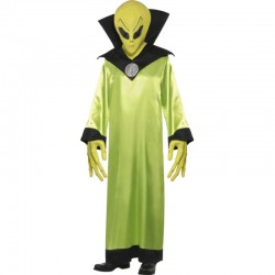 COSTUME ALIEN ADULTE T.MOYENNE