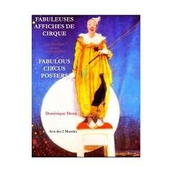 LIVRE FABULEUSES AFFICHES DE CIRQUE