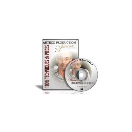 100% TECHNIQUES DE PIECES JP VALLARINO DVD