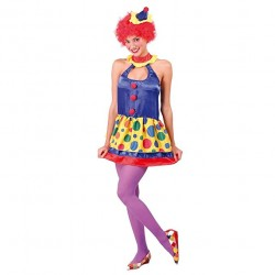 COSTUME ROBE CLOWNETTE