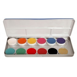 PALETTE 12 COULEURS AQUACOLOR