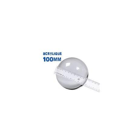BALLE ACRYLIQUE DIAM 100 mm