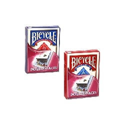 JEU BICYCLE DBLE FACE IMPRIMEES