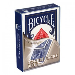JEU BICYCLE DOUBLE TAROT BLEU