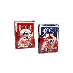 JEU BICYCLE DOUBLE TAROT ROUGE/BLEU