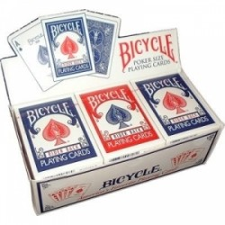 BICYCLE RIDER BACK CARTOUCHE DE 12