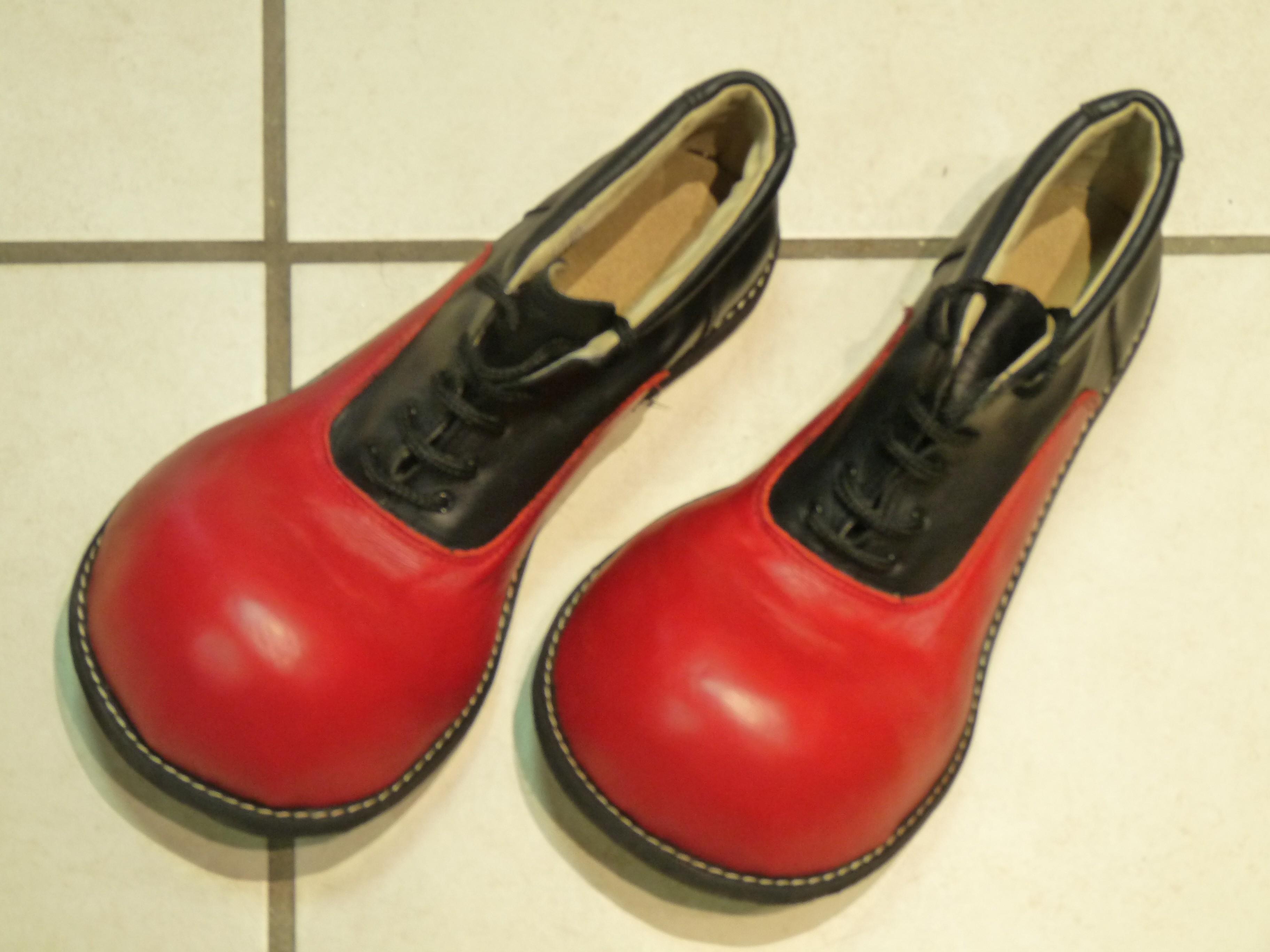 Chaussures Clown Cuir
