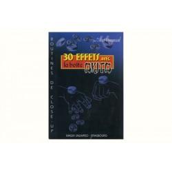 LIVRE 30 EFFETS AVEC BOITE OKITO