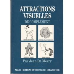 LIVRE ATTRACTIONS VISUELLES DE COMPLEMENT JEAN DE MERRY