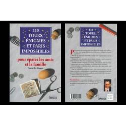 LIVRE 110 TOURS EGNIMES ET PARIS IMPOSSIBLES PASCAL LE GUERN