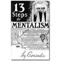 Livre : The thirteen step to mentalism TONY CORINDA