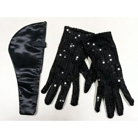 colombe aux gants