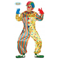 COSTUME COMBINAISON CLOWN