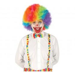 Bretelles Clown à pois