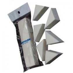 eponge latex triangle x 6