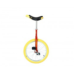 MONOCYCLE LUXUS 20 pouces ROUGE ou BLEU pneu jaune