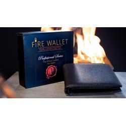 PORTE FEUILLE EN FEU EN CUIR FIRE WALLET