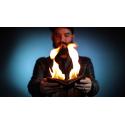 PORTE FEUILLE EN FEU SIMILI CUIR FIRE WALLET