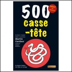 500 CASSE TETE MARTIN GARDNER