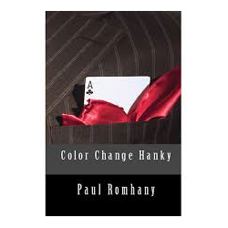 COLOR CHANGE HANKY by Paul ROMAHANY
