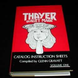 THAYER QUALITY MAGIC CATALOG X 4
