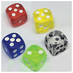 DICE WITHOUT TWO