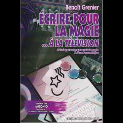LIVRE ECRIRE POUR LA MAGIE 2 à la télévision
