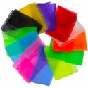 SET DE 3 MINI FOULARDS A JONGLER 40 cm