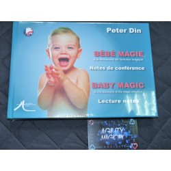 LIVRE BEBE MAGIE Peter Din