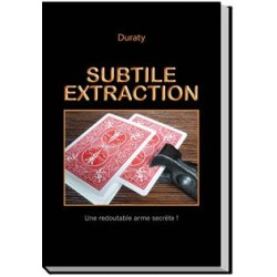 livre SUBTILE EXTRACTION Duraty