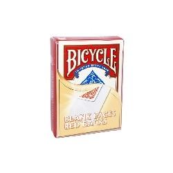 JEU BICYCLE TAROT IMPRIME FACES BLANCHES