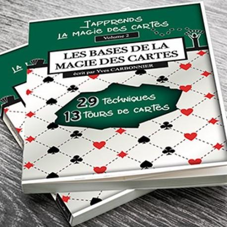 LIVRE Les Bases de la Magie des Cartes Yves Carbonnier