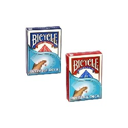 JEU BICYCLE INVISIBLE - FORMAT POKER