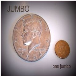 PIECE DEMI DOLLAR JUMBO