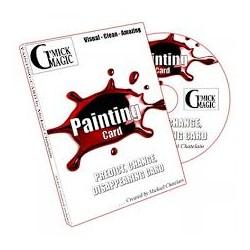 PAINTING CARD MICKAEL CHATELAIN