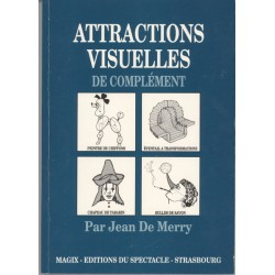 LIVRE ATTRACTIONS VISUELLES DE COMPLEMENT JEAN DE MERRY