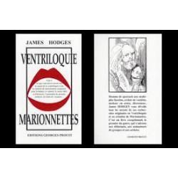 LIVRE COMMENT DEVENIR VENTRILOQUE & MARIONNETTES JAMES HODGES