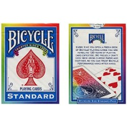 JEU BICYCLE ARC EN CIEL