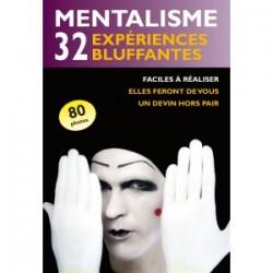 LIVRE MENTALISME 32 experimes bluffantes
